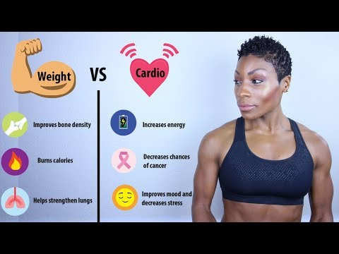 Weight Training VS. Cardio