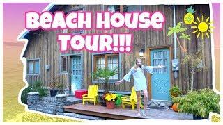 BEACH HOUSE TOUR!! HeartHez♡