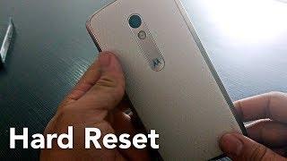 Como fazer Hard reset no Moto X Play, Moto X, MotoG (1° 2° 3° Geração) e Moto E