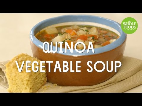 Quinoa Vegetable Soup L Freshly Made   Whole Foods Market