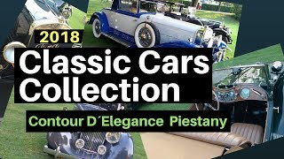 Classic Cars Collection (2018) Piestany   Contour D´Elegance