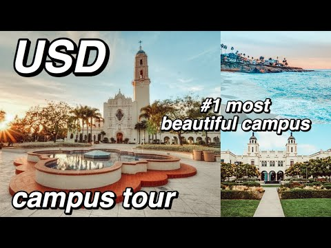 University Of San Diego Campus Tour 2020! (USD) MOST BEAUTIFUL CAMPUS IN SOCAL  | Nena Shelby
