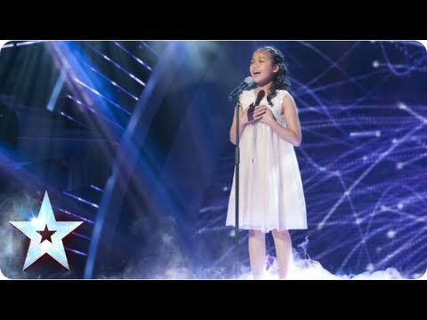 Arisxandra sings Whitney Houston's 'I Have Nothing' | Semi-Final 1 | Britain's Got Talent 2013: The tiny girl with the enormous voice belts out a jaw-dropping cover of Whitney Houston's hit I Have Nothing. With a voice capable of blowing the roof off the studio, this young lady certainly has something.   See more from Britain's Got Talent at http://itv.com/talent  SUBSCRIBE: http://bit.ly/BGTsub Facebook: http://www.facebook.com/BritainsGotTalent Twitter: http://twitter.com/GotTalent Download the BGT mobile app: http://bit.ly/BGTapp Watch full episodes on ITV Player (UK ONLY): http://www.itv.com/itvplayer