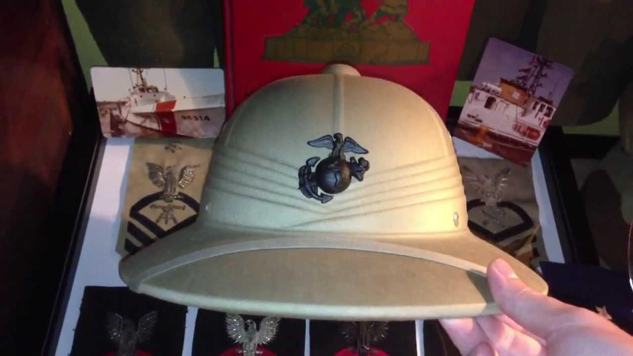 ab217cca6e1f6 Vietnam USMC Pith Helmet - YouTube