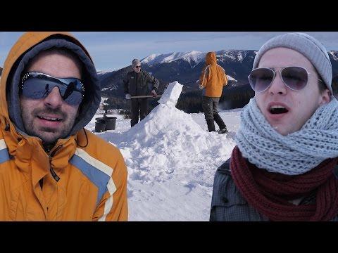 A LEGNAGYOBB magyar hóember ! Pamkutya kalandok #12