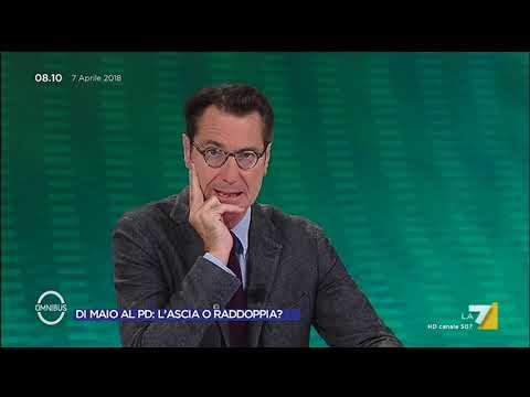 Omnibus - Def e debito pubblico: sforo italico (Puntata 07/04/2018)