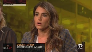 Nikki Reed on how she found her voice on social media
