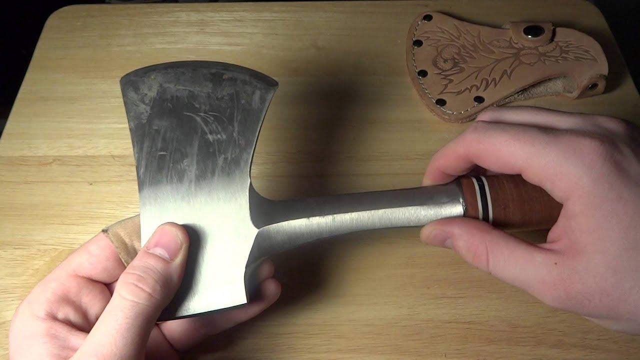 Estwing E14a Sportsmans axe-Leather Grip