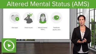 Altered Mental Status: Common Causes & First Steps – Emergency Medicine   Lecturio