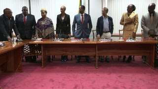 Heads of agreement Signing Ceremony, GOJ and Jamaica Police Federation Dec 14th, 2018