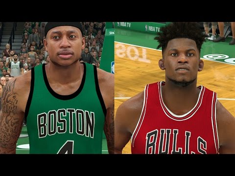 2017 NBA Playoffs Rd1 Preview - Upsets Everywhere! | NBA 2K17 Sim