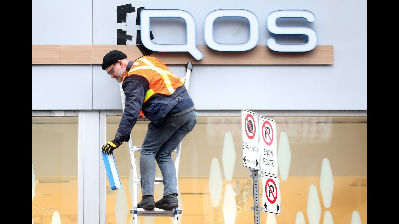 Health Canada orders IQOS tobacco storefront to remove its