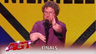 "Ryan Niemiller: Indiana Comidian ""Cripple Threat"" KILLS Finals Act! | America's Got Talent 2019"