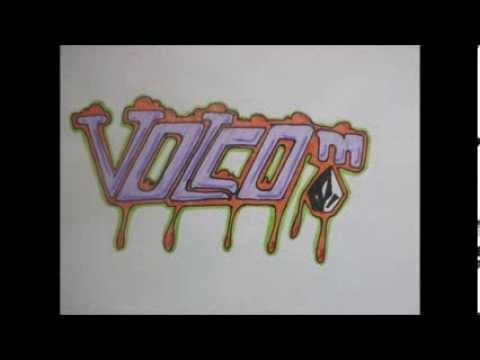 Mis mejores graffitis en papel youtube - Graffitis en papel ...
