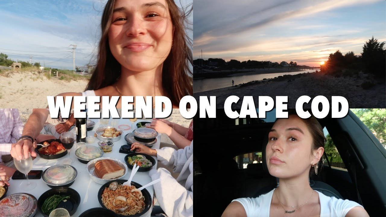 VLOG: weekend on the cape! beach, dinner, spending time with family