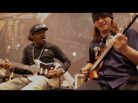 NAMM 2017: Eric Gales & Cody Wright Live At The Dunlop Booth