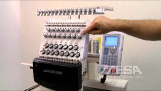 Highland Video Training Series - HM/D-1501C - Checking and Adjusting Thread Tension