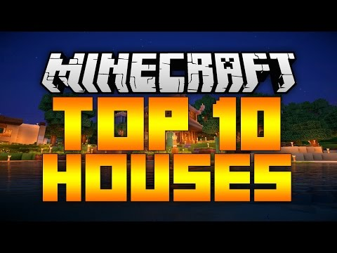 TOP 10 EPIC MINECRAFT HOUSES! 2017 (Best Minecraft Houses)