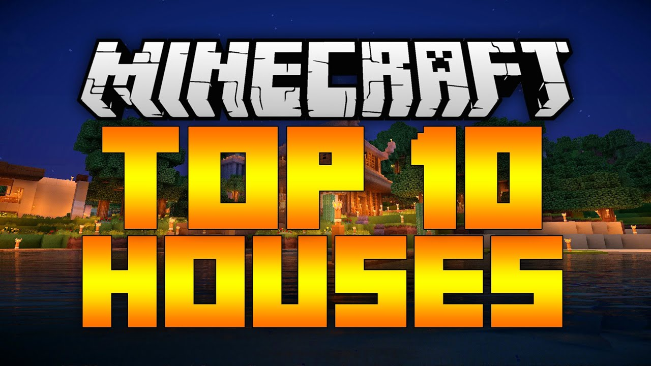 TOP 10 EPIC MINECRAFT HOUSES! 2017 (Best Minecraft Houses