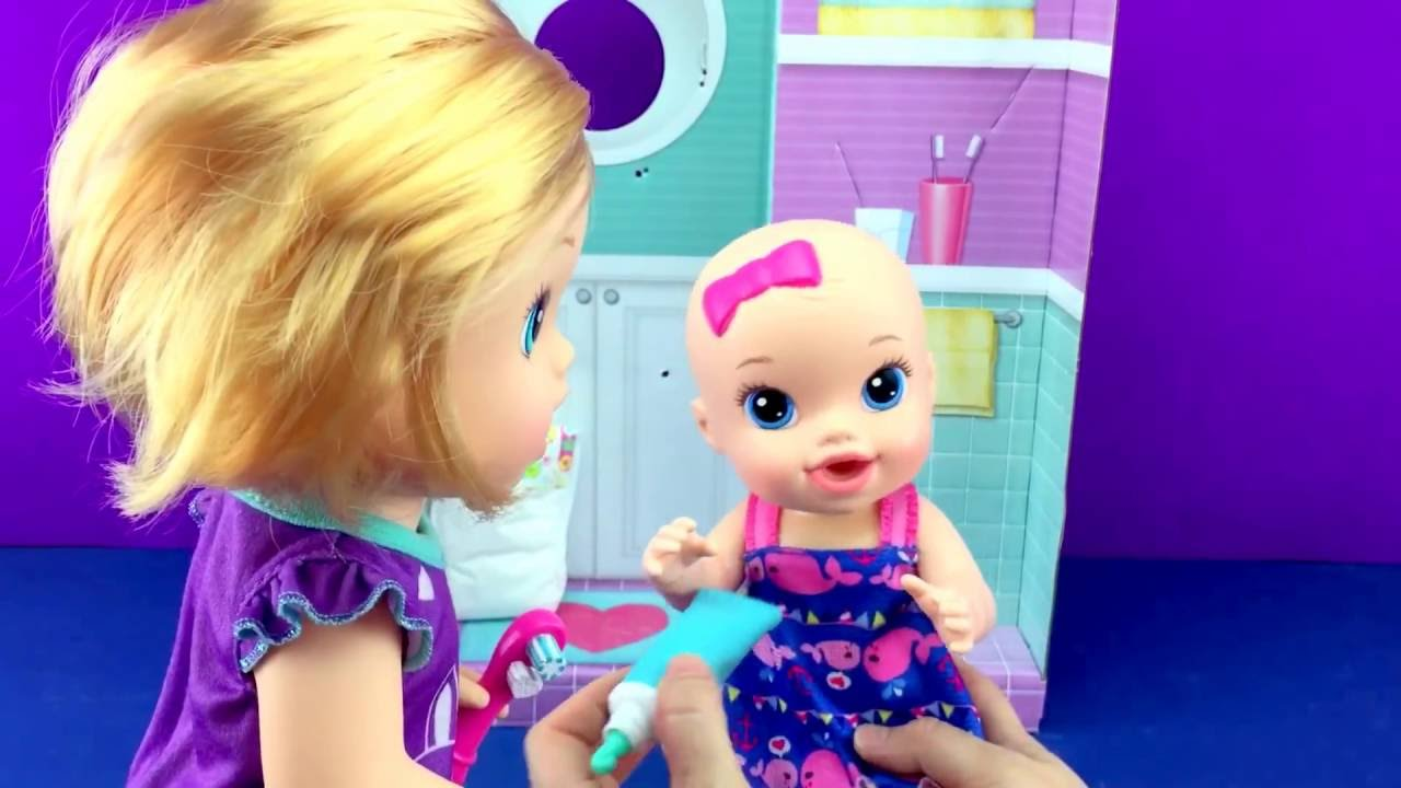 Baby Alive Brushy Baby Baby Doll Bribes Little Sister Baby