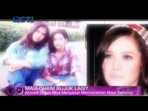 Ahmad Dhani Akui Menyesal Menceraikan Maia Estianty