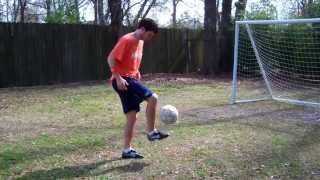 Soccer Tips - How to Juggle a Soccer Ball with your Feet Advanced by Online Soccer Academy