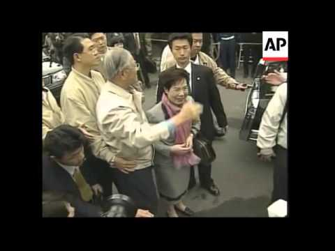 Japan issues visa for former Taiwan president