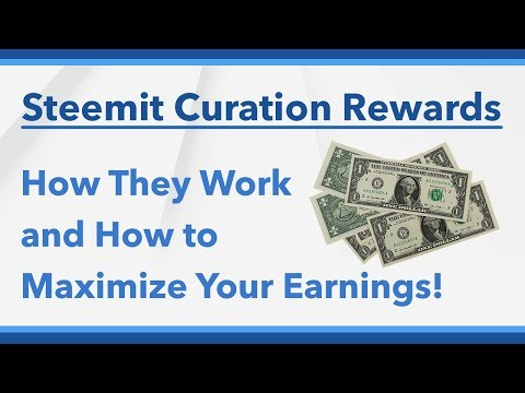 How Steemit Curation Rewards Work and How to Earn More!