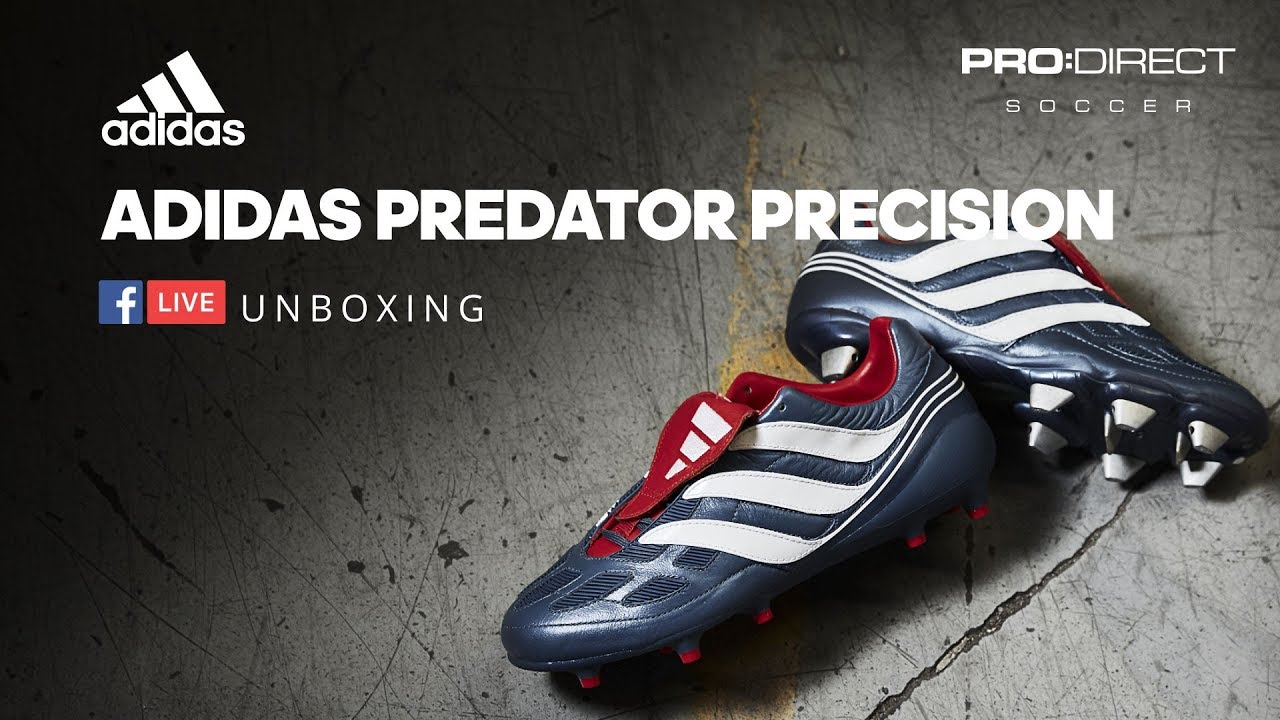 3aa8221d1 Unboxing  Limited Edition adidas Predator Precision - YouTube