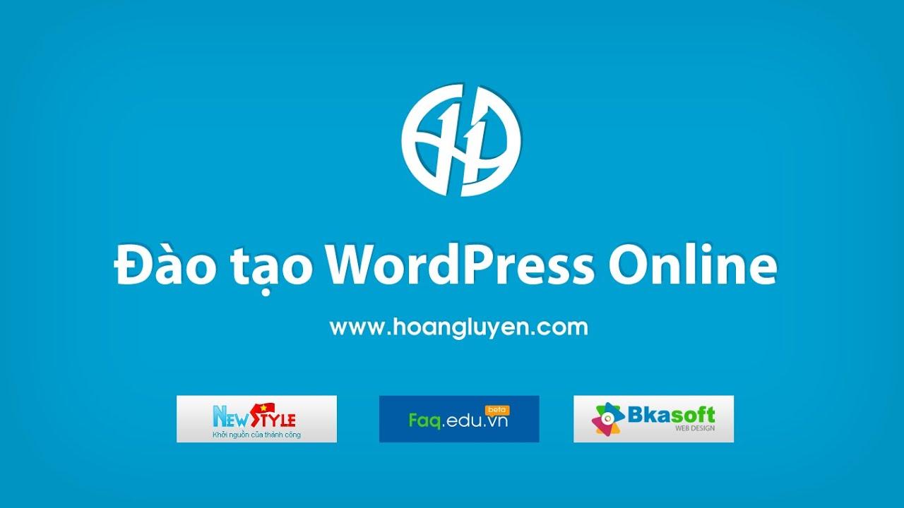 Hướng dẫn sử dụng Themes WordPress & cấu hình chuẩn SEO