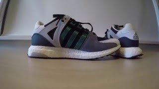 unboxing and on feet adidas boost eqt support 93 16 black