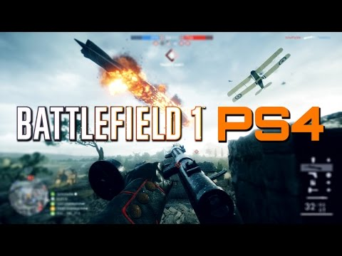 Battlefield 1: 51 Kills Live on PS4 - St. Quentin Scar Conquest Gameplay
