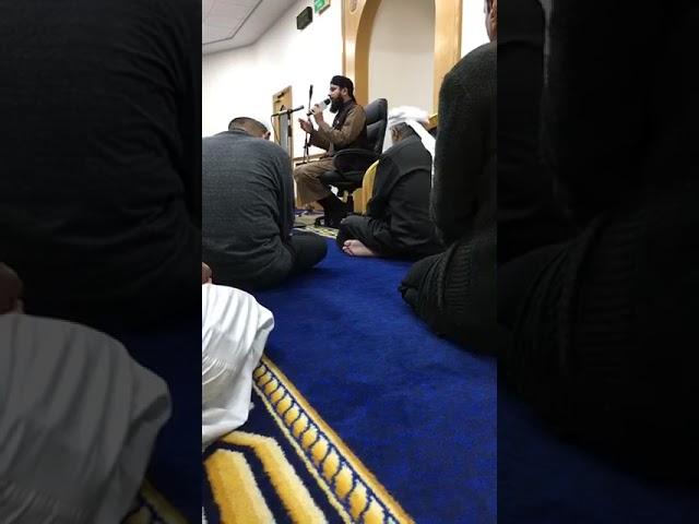 Qari Asif Rasheedi  (Naat programme at Masjid Ali Leicester )