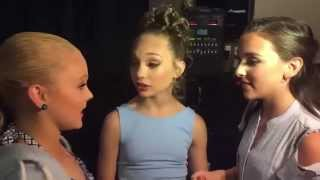 Dance Moms - Maddie Ziegler gets SLAPPED by Kendall K Backstage at Nationals thumbnail