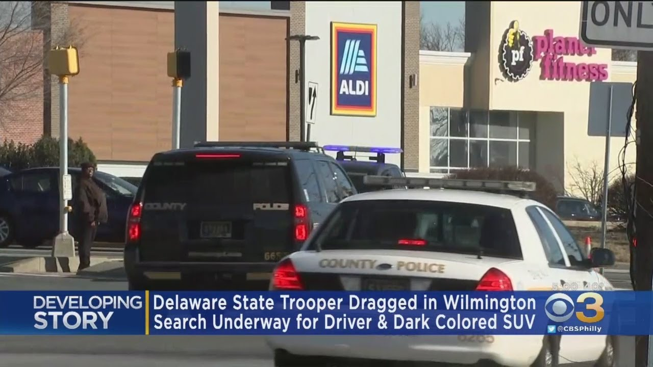 Delaware State Trooper Dragged By SUV In Wilmington