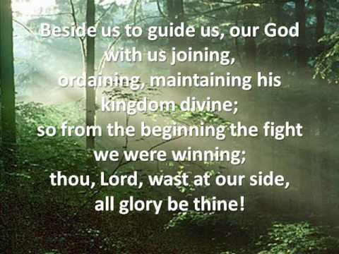 We Gather Together - Hymn (Lyrics and Music)