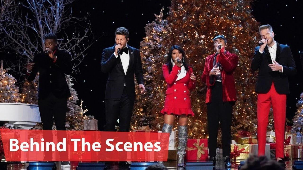 A Very Pentatonix Christmas.A Very Pentatonix Christmas Brett Eldredge Darci Lynne Jennifer Hudson Behind The Scenes