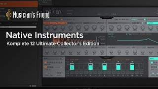 Native Instruments Komplete 12 Ultimate Collector's Edition - Overview and Demo