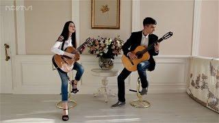 Милонга  Х. Кардосо - Максим и Соня (Уроки гитары Харьков)
