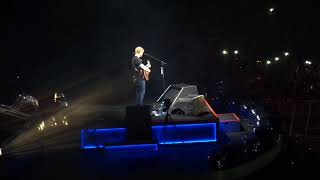 Supermarket Flowers LIVE - Ed Sheeran @ Etihad Stadium 2018-03-11