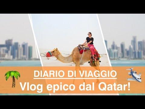 Travel vlog in Qatar: tra urla nel deserto, shopping sfrenato e un Giova dispettoso!