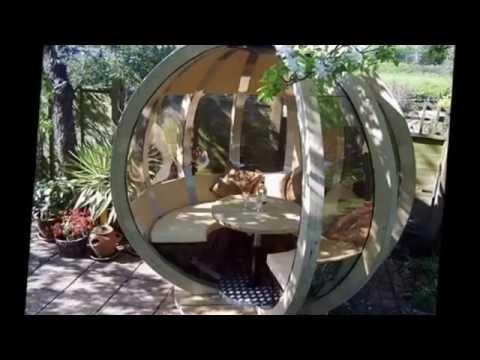 Самые необычные садовые беседки