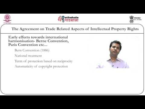 The agreement on trade related aspects of intellectual property rights