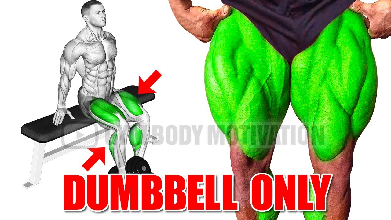 BEST HOME LEG WORKOUT WITH DUMBELLS ONLY