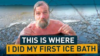 Wim Hofs First  Ce Bath Throwback