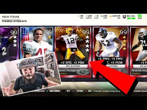 MAKE MADDEN GREAT AGAIN!! (MUST WATCH) MADDEN PACK OPENING THROWBACK
