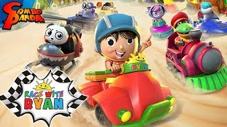 RACE WITH RYAN ! Combo Panda in Ryan's World Video Game! Let's Play