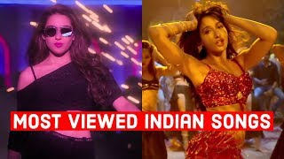 Top 20 Most Viewed Indian/Bollywood Songs on Youtube of All Time   Hindi, Punjabi Songs