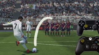 PES 2015 FREE KICK TUTORIAL