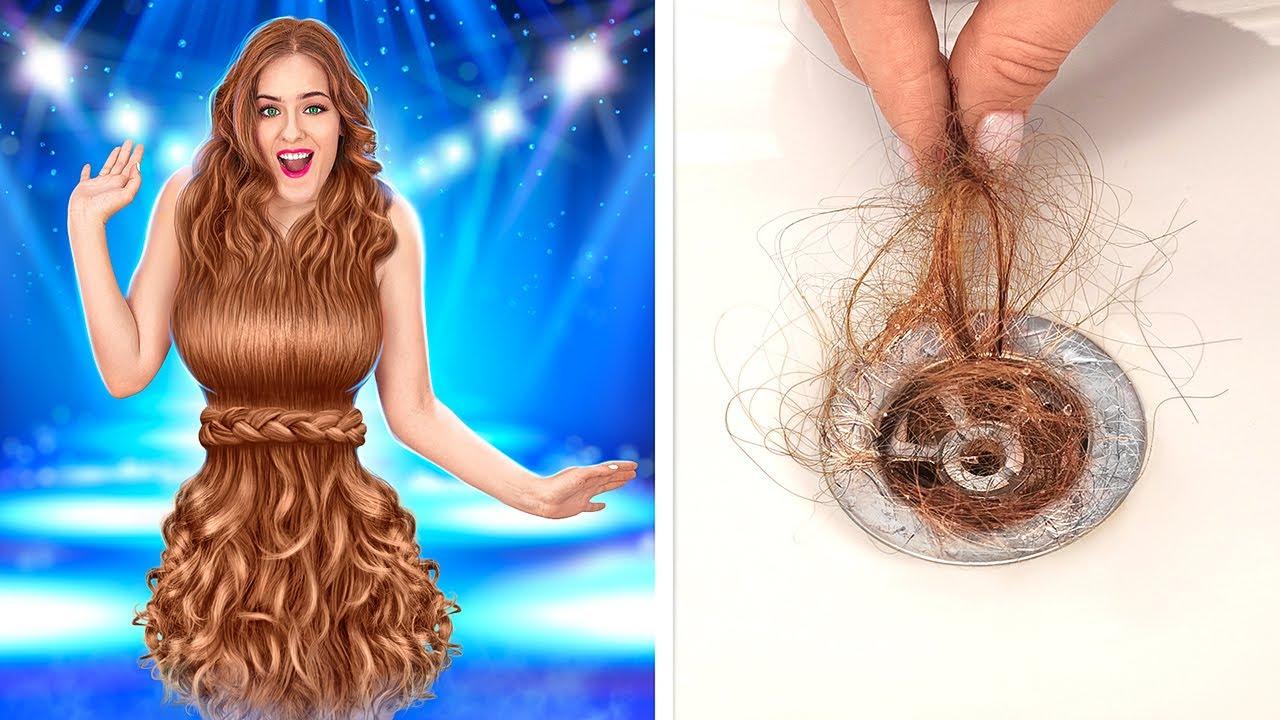 लंबे बाल और लंबे नाखूनों की परेशानियां || असली ज़िन्दगी की मज़ेदार सिचुएशन 123 GO!